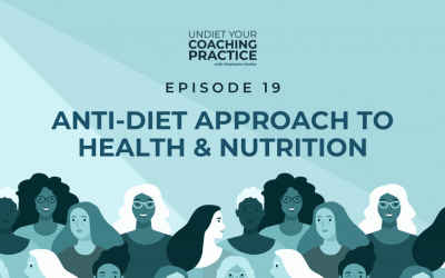 19-Anti-Diet Approach to Health and Nutrition